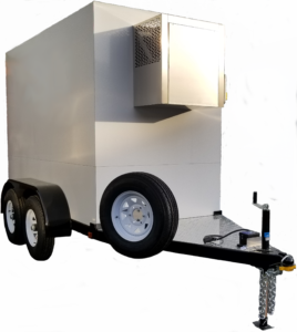 Polar Temp 5' x 9' refrigerated trailer