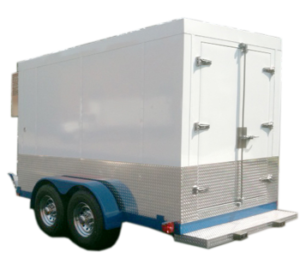 Portable Walk-In Cooler - Mobile Cold Storage Trailers