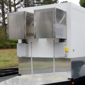 dual over-cabin refrigeration