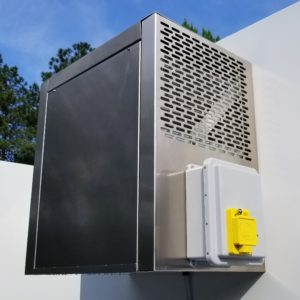 over-cabin refrigeration unit