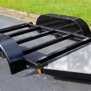 steel trailer frame